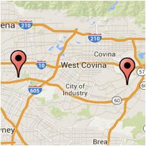 Map: San Gabriel Blvd to La Puente Dr