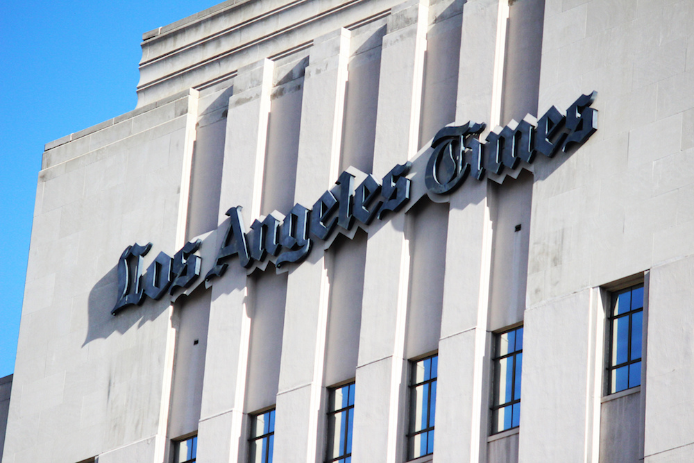 The Thin Remains of the Once Mighty Los Angeles Times | Essay ... Los Angeles Once on