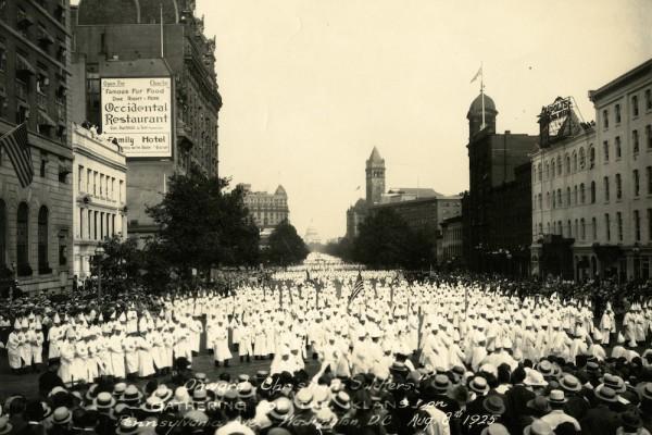 Grinspan KKK DC Rally 1925 lead
