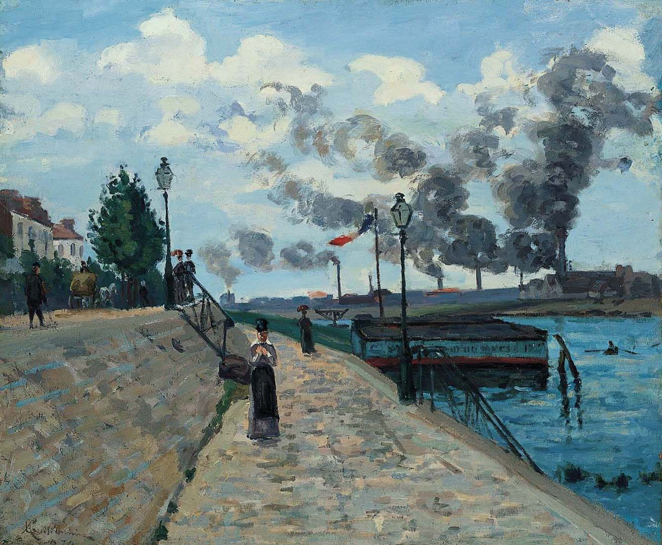 MAIN Guillaumin_The Seine at Charenton