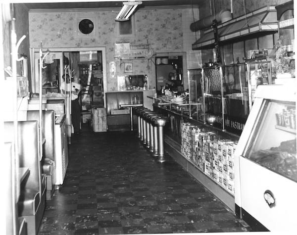 Zarkower's Deli in White Plains, New York, 1962