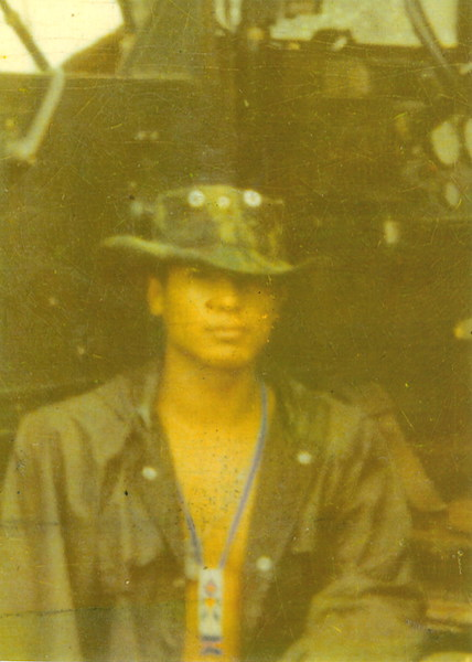 Rick Martinez, 18, in Vietnam (1969)
