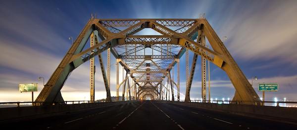 East Bay truss span