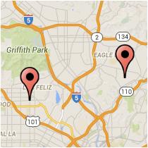 Map: Avenue 54 - Fountain Avenue