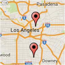 Map: Soto Street - American Avenue