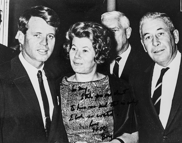 McGrory and Bobby Kennedy: Mary McGrory Papers/Library of Congress