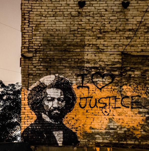 St. George, Frederick Douglass, Los Angeles, CA, 2013.