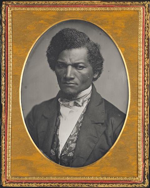 Samuel J. Miller, Frederick Douglass, 1852, Daguerreotype. Art Institute of Chicago.