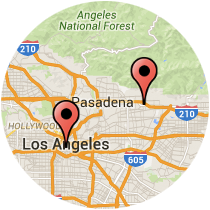 Map: San Pedro Street - Santa Clara Street