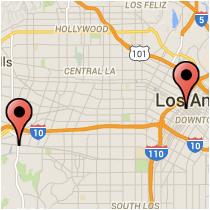 Map: Grand Avenue - Jefferson Boulevard