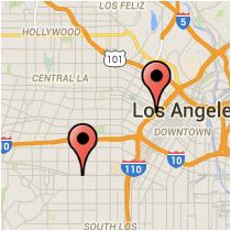 Map: 7th Street - Exposition Boulevard