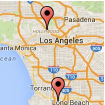 Map: Anaheim Street - Gower Street