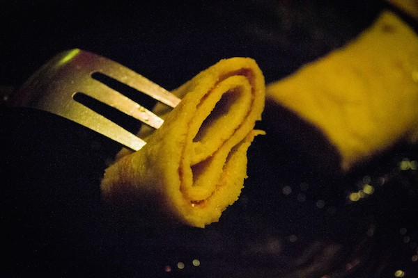 Photo of Shrove Tuesday pancakes for Bramley on Shrove Tuesday