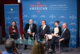 """Zocalo Public Square presents """"What It Means To Be American"""" Panel Discussion at the British Museum, London, March 9th 2016"""