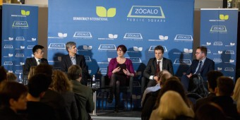 "Zocalo Public Square presents ""Democracy International"" Panel Discussion at the Royal Institute, London, March 10th 2016"