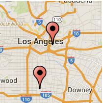 Map: Soto Street - 103rd Street