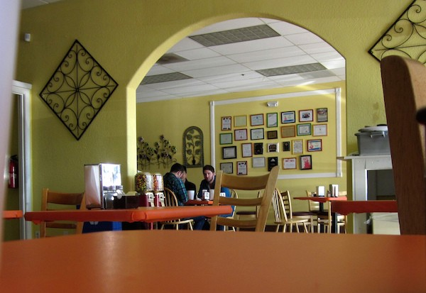 Inside Tacos Marquitos, one of Fresno's beloved taquerías.