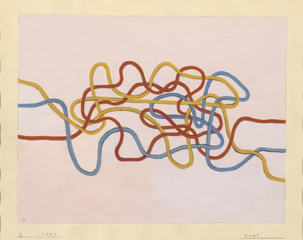 Anni Albers, Knot 2, 1947 (photographed by Tim Nighswander/Imaging 4 Art).