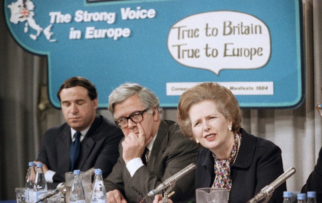 How the Iron Lady Fell Down the European Rabbit Hole