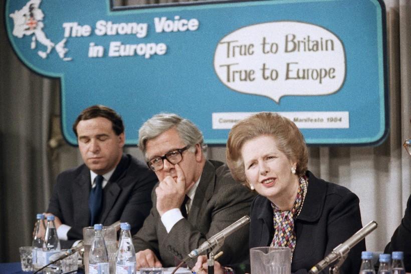How the Iron Lady Fell Down the European Rabbit Hole