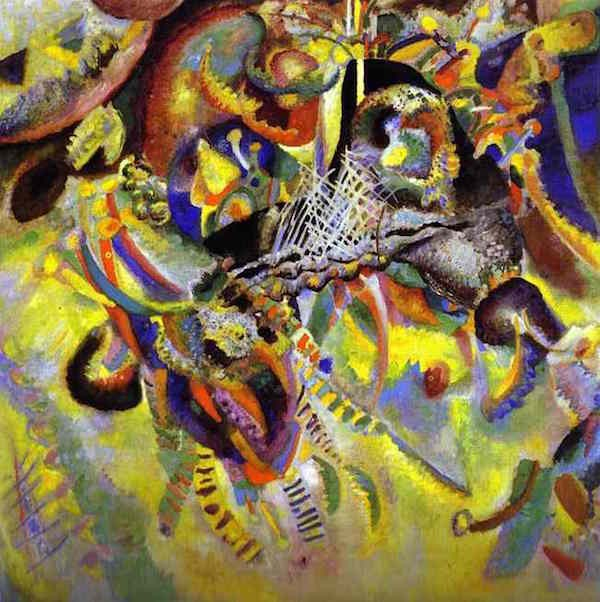 """Fugue"" by Vasily Kandinsky, 1914"