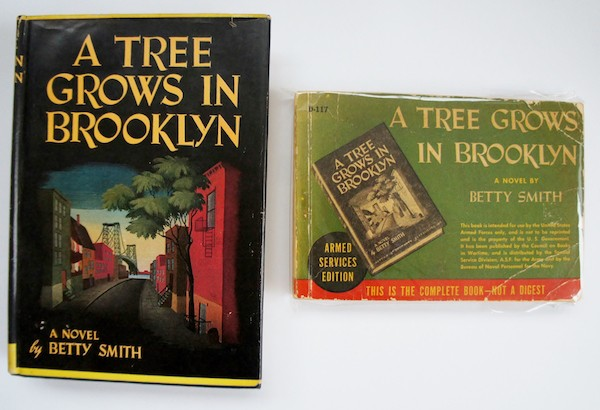 Surprisingly, Betty Smith's A Tree Grows in Brooklyn was the most popular novel among American soldiers.