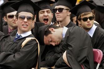 APTOPIX Boston College Commencement
