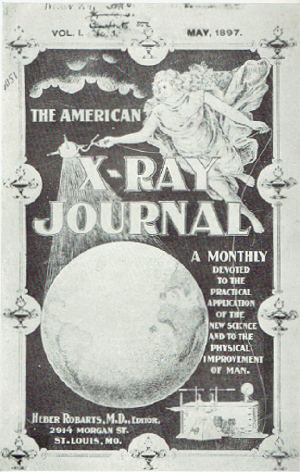 Cover of an 1897 scientific journal devoted to X-ray research