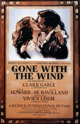 Gone with the Wind won the Academy Award for Best Picture in 1940.