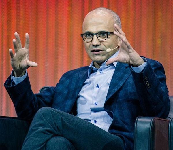 Microsoft CEO Satya Nadella in 2013.
