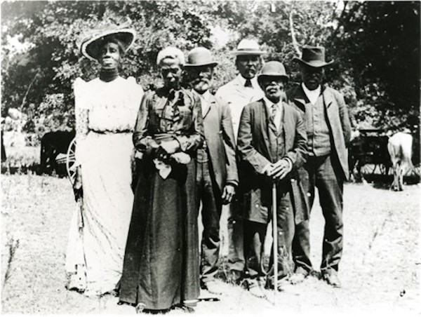 A Juneteenth celebration in Texas in 1900.