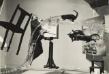 [Dali Atomicus]; Philippe Halsman (American, 1906 - 1979); 1948; Gelatin silver print; 27.3 x 34.4 cm (10 3/4 x 13 9/16 in.); 84.XP.727.12