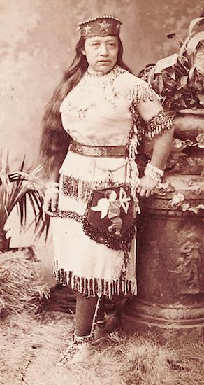Sarah Winnemucca, 1844-1891.