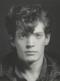 Self-Portrait; Robert Mapplethorpe (American, 1946 - 1989); New York, New York, United States; negative 1980; print 1990; Gelatin silver print; 35.6 x 35.6 cm (14 x 14 in.); 2011.9.21