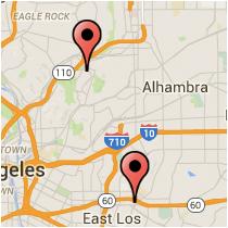 Map: Coleman Avenue - Pomona Boulevard