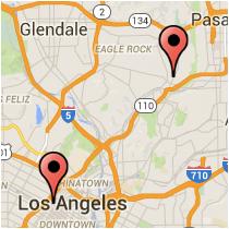 Map: Fifth Street - Crescent Street