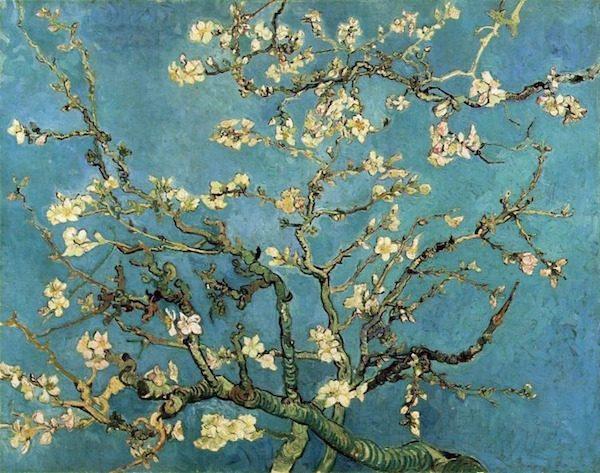 Almond Blossom, Vincent van Gogh.
