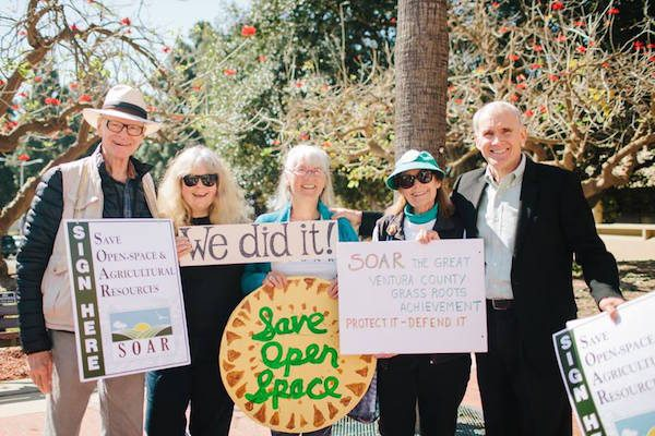 A group of SOAR volunteers in Ventura County.