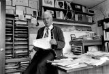 David Brower is shown in his office in San Francisco, Ca., on Aug. 28, 1979.  Brower, who was Sierra Club's first executive director, now heads the Friends of Earth organization.  (AP Photo)