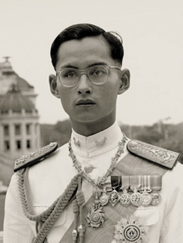 Young King Bhumibol.