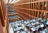 Humboldt University Library in Berlin, Germany