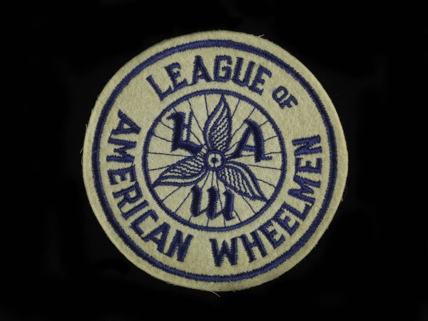 A promotional patch from the League of American Wheelmen.