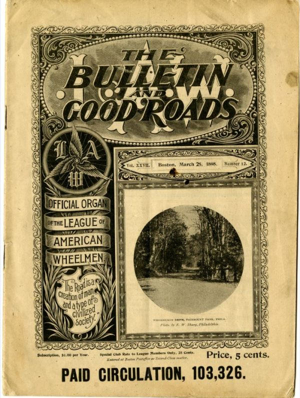 A cover of Good Roads magazine.