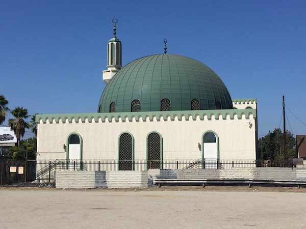 Omar ibn Al-Khattab mosque in Los Angeles.