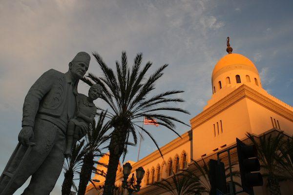 The Shrine Auditorium in Los Angeles.