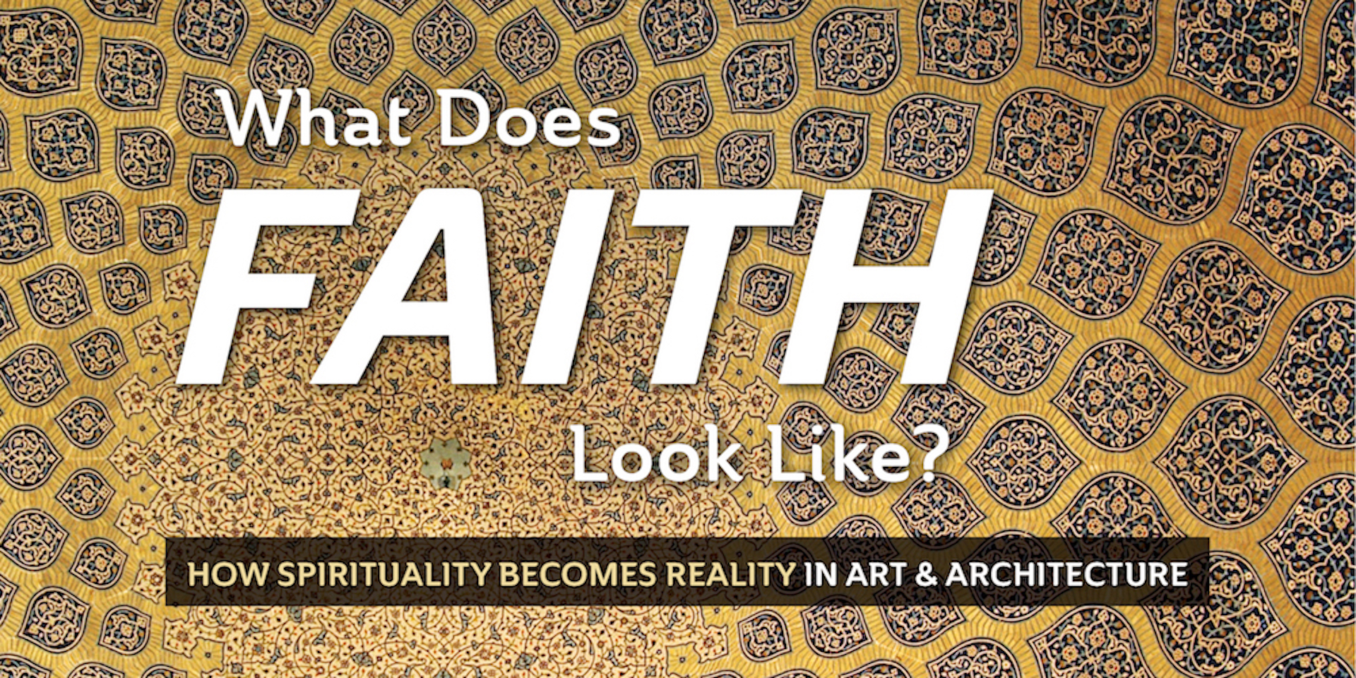 What Does Faith Look Like?