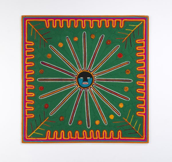 Untitled, Ramón Medina Silva, mid-1960s. Yarn, beeswax, composition board. Purchase courtesy of the Ford Foundation, X67.72; Fowler Museum at UCLA.
