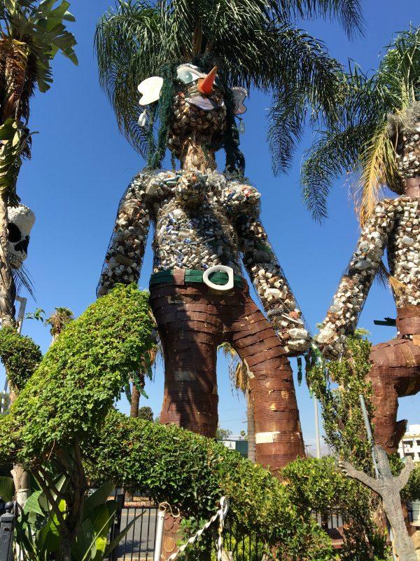 Palm Tree Woman by Martin Sanchez.