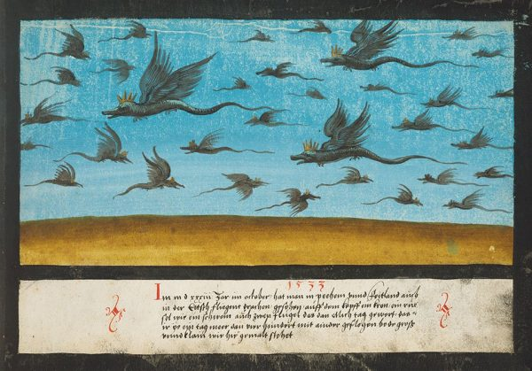 1533, Dragons over Bohemia.