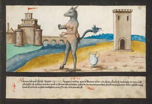 1496, Tiber monster.